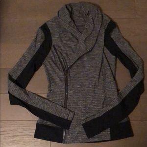 Lululemon asymmetrical jacket